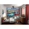 WallPops! Walltastic Wall Art Car Racers Wall Mural