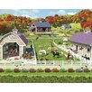 WallPops! Walltastic Wall Art Horse and Pony Stables Wall Mural