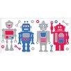 WallPops! Fun4Walls Robots Wall Decal