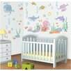 WallPops! Walltastic Wall Art Baby Under The Sea Wall Decal