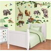 WallPops! Walltastic Wall Art Jungle Adventure Wall Decal