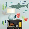 WallPops! Bart The Shark Wall Decal