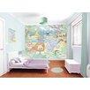 WallPops! Walltastic Wall Art Baby Jungle Safari Wall Mural