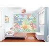 WallPops! Walltastic Wall Art Baby Dino World Wall Mural