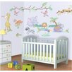 WallPops! Walltastic Wall Art Baby Jungle Safari Wall Decal
