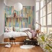 WallPops! Komar Painted Wood Wall Mural