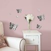 WallPops! WallPops 3D Butterflies Mirror Wall Decal