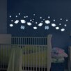 WallPops! Home Decor Line Sheep Glow in The Dark Wall Decal