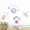 WallPops! Happy Fairies 25 Piece Wall Decal Set