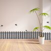 WallPops! Fence and Birds Border Wall Decal