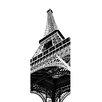 WallPops! Paris Tour Eiffel Door Decal