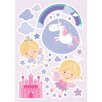 WallPops! Happy Fairies 25 Piece Wall Decal Set