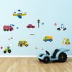 WallPops! Traffic 18 Piece Wall Decal Set