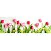 WallPops! Tulip 3 Piece Panoramic Wall Decal Set