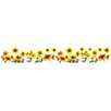 WallPops! Sunflowers Border Wall Decal