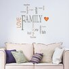 WallPops! Family Quotes Wall Decal