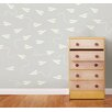 WallPops! Paper Airplane MiniPops 228 Piece Wall Decal Set