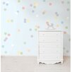 WallPops! Pastel Confetti MiniPops 60 Piece Wall Decal Set