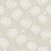 "WallPops! 18' x 20.5"" Dandelion Peel and Stick Wallpaper"