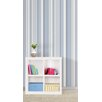 "WallPops! 18' x 20.5"" Awning Stripe Peel and Stick Wallpaper"
