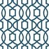 """WallPops! 18' x 20.5"""" Grand Trellis Peel And Stick Wallpaper"""