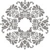 WallPops! Kolkata Ceiling Medallion Decal