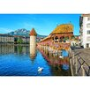 WallPops! Lucerne Switzerland Wall Mural