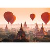 WallPops! Balloons over Bagan Wall Mural