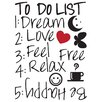 WallPops! Home Decor Line Rules Wall Quote Decals (Set of 2)