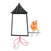 WallPops! Home Decor Line Birdhouse Whiteboard Wall Decal