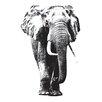 WallPops! Home Decor Line Elephant Wall Decal