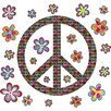 WallPops! WallPops Kits Sheets Peace Wall Decal