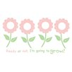 WallPops! Wall Art Kit Forget Me Not Wall Decal