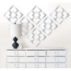 WallPops! Jonathan Adler Nixon Mylar Wall Decal Kit