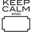 WallPops! Keep Calm Art Kit Dry Erase Wall Decal