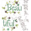 WallPops! Wall Art Kit Be Your Own Kind of Beautiful Quote Wall Decal