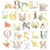WallPops! Wall Art Kit Alphabet Zoo Wall Decal