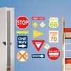 WallPops! Wall Art Kit Road Signs Wall Decal