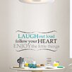 WallPops! Wall Art Kit Laugh Out Loud Quote Wall Decal
