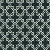 """Brewster Home Fashions Ink Ironwork Ogee 33' x 20.5"""" Trellis 3D Embossed Wallpaper"""