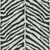 "Brewster Home Fashions Echo Design 33' x 20.5"" Zebra Animal Print Embossed Wallpaper"
