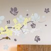 Brewster Home Fashions Euro Branches and Flowers Wall Decal