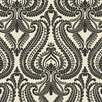 "Brewster Home Fashions Simple Space II Imperial Modern 33' x 20.5"" Damask Embossed Wallpaper"