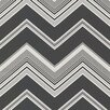 "Brewster Home Fashions Elements Bearden 33' x 20.5"" Chevron 3D Embossed Wallpaper"