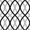"Brewster Home Fashions Simple Space II Contour Lattice 33' x 20.5"" Geometric Embossed Wallpaper"