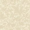 """Brewster Home Fashions Artistic Illusion Fauna Silhouette Leaves 33' x 20.5"""" Floral 3D Embossed Wallpaper"""