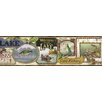 Brewster Home Fashions Borders by Chesapeake Skippy Fishing Signs Portrait 15' x 6'' Wildlife 3D Embossed Border Wallpaper