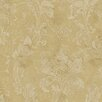 """Brewster Home Fashions Artistic Illusion Irena Delicate 33' x 20.5"""" Floral 3D Embossed Wallpaper"""