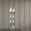 "Brewster Home Fashions Venezia Giulia Brocade Ribbon 33' x 20.5"" Stripes 3D Embossed Wallpaper"