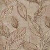 "Brewster Home Fashions Venezia Rosalba 33' x 27"" Floral 3D Embossed Wallpaper"